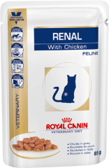 Royal Canin Renal Feline Chicken Pouches, 0.085 кг
