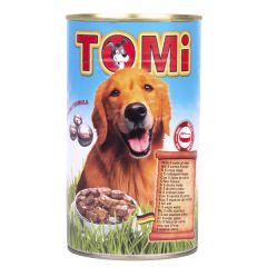 TOMi 5 kinds of meat 5 ВИДОВ МЯСА консервы для собак, влажный корм