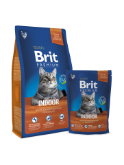 Brit Premium Cat Indoor для кошек, живущих в помещении, 0.3 кг