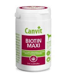 Canvit Biotin Maxi for dogs, 230 грамм