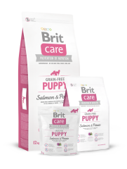Brit Care Grain-free Puppy Salmon & Potato (для щенков), 1 кг