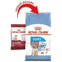 Royal Canin Medium Junior (Puppy), 1 кг